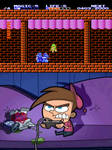 Timmy Turner Playing Adventure of Link by RazorRex