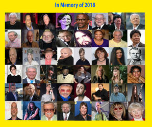 In Memory of those who have Passed in 2018 by RazorRex
