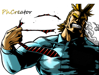 BnH Academia - All Might by PhCreator