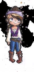 Smile, you're a pirate! by noodi10