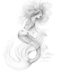 Washed Ashore Mermaid by Mocten