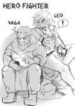 HEROFIGHTER - Leo and Yaga by ERALunderground