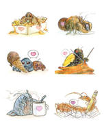 Bugs Love by skulldog