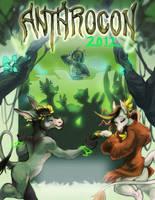 Anthrocon 2012 Dance Poster by skulldog