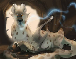 Hyena Dragon by skulldog