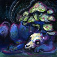 Mushroom Sleep by skulldog