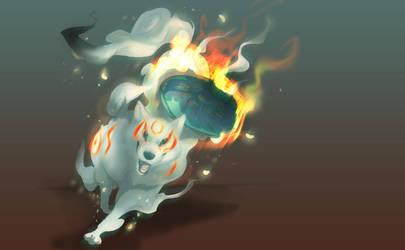 White Wolf by skulldog