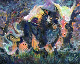 Black Dogs and Wildfire by skulldog