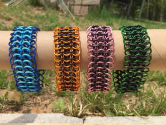 5 Row European 4-In-1 Bracelets by JonnyBBreaks