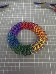 3 Row European 4-In-1 Rainbow Bracelet by JonnyBBreaks