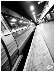 Leicester Train Station I by vinniewhite