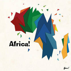 Africa-abstract by IamGam