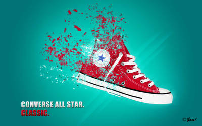 Converse All Star by IamGam