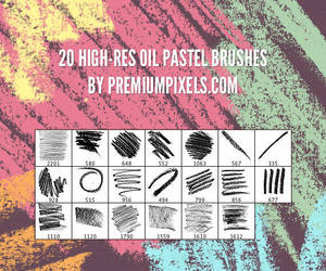 Free Oil Pastel Brushes by ormanclark