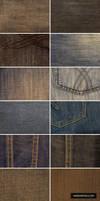 12 High-Res Denim Textures by ormanclark