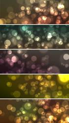 5 Bokeh Effect Backgrounds by ormanclark