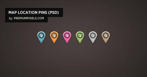 Map Location Pins by ormanclark