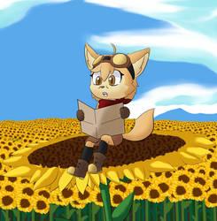 Sunflower Fields by TheBlackHex