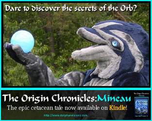 Origin Chronicles: Mineau now on Kindle by MineauTheDolphin
