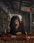 The Librarian by DeepBlueDesign