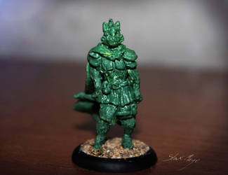 DnD Custom Rouge Cat minature by StaxMaye