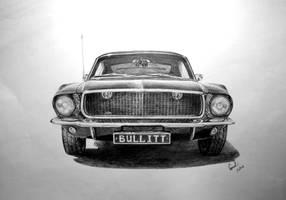 68 Ford Mustang Bullitt by BabysGotATemper