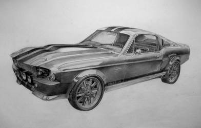 Shelby GT500 by BabysGotATemper
