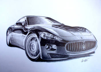 Maserati Grand Turismo by BabysGotATemper