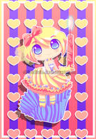 Pastel Cupcake by chicinlicin