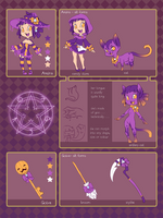 Areina and Goixe Character Ref by chicinlicin