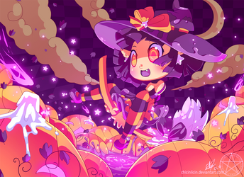 Pumpkin Field by chicinlicin