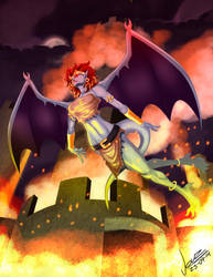 Demona Gargoyles by okarusekai