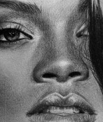 Rihanna detail by MissRoxyMFC