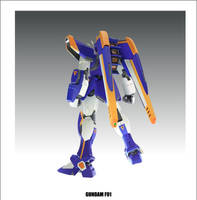 GundamF91 by Auu