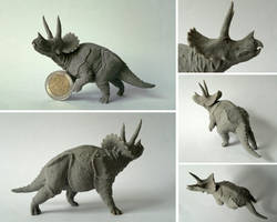 Triceratops by N1C0L4I
