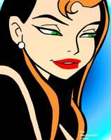 Shayera Hol Justice League Unlimited by DarkArk07