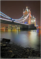 Low Tide At Tower Bridge II by andy-j-s