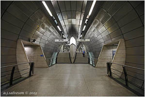 Southwark Tube Station. by andy-j-s