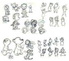 Chris Sanders, Disney, UPA by TonyPants