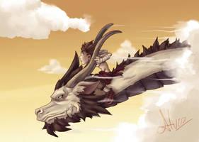 Dragon by AlvinRPG