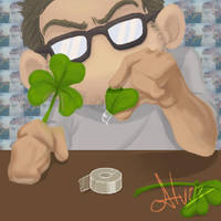 GOOD LUCK by AlvinRPG