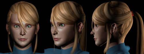 Samus Aran Realistic 01 by AlvinRPG