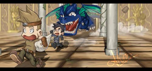 Art-jam Subculutra: Dragones by AlvinRPG