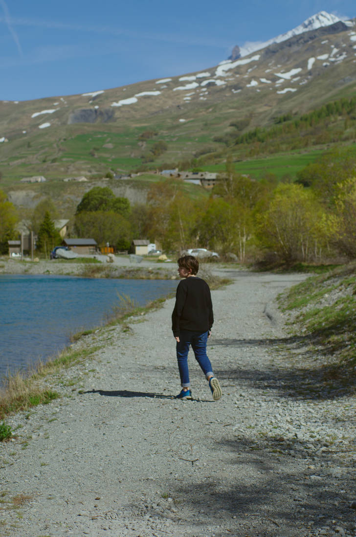 walking near the lake by blackcatsshoot