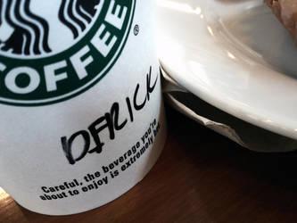 Starbucks Coffee by 13ride89