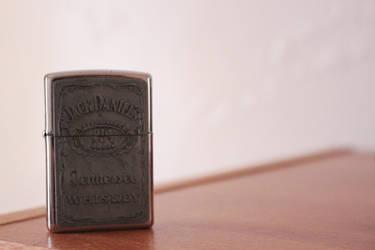 Jack Daniel's Whiskey Lighter by 13ride89