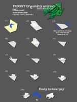 froggy origami by aminion