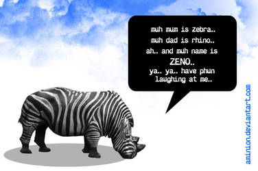 zeno, the son of zebra n rhino by aminion