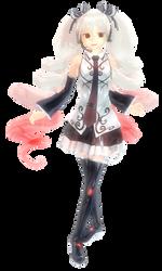 Hatsune by petite-gloomy