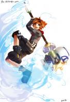 Sora-toy-kh3 by Pun-Rii